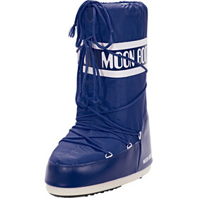 Moon Boot Nylon Stiefel blue